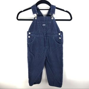 Carter's Blue Corduroy Overalls Size 4T